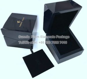 Ângulo oblíquo Dom madeira madeira de Embalagem embalagem Caixa de jóias