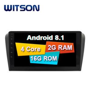 Witson Double DIN carro GPS de navegação do DVD para Mazda 3 (2004-2009)
