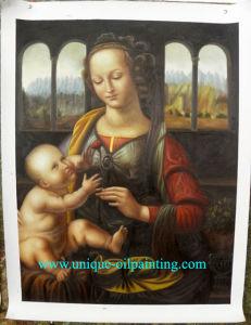 Olieverfschilderij, het Olieverfschilderij van de Godsdienst, het Olieverfschilderij van Vigin Mary