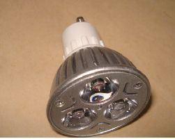 LED-Birne (GU10-3X1W)