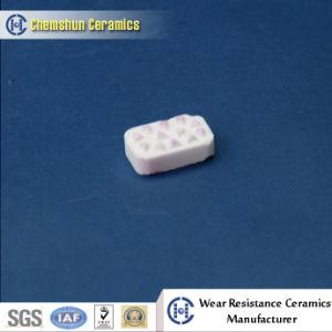 Abnutzungs-beständiger quadratischer Keramikziegel für Riemenscheiben-Verkleidung mit Grübchen