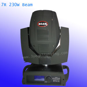Shapry cabezal movible de haz de luz 230W 7r