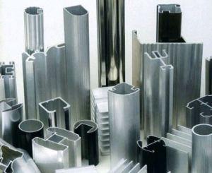Profil de l'aluminium aluminium extrudé pour châssis de portes et fenêtres (HF028)