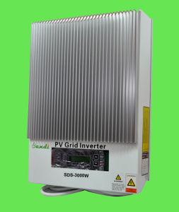 invertitore solare del legame di griglia di alta efficienza 3000W per i sistemi solari (SDS-3000W)