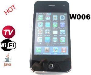 Phone 3GS WiFi TV Java quad band cartão duplo SIM (W006)