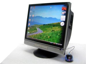 Lcd-Fernsehapparat-PC aller in einem