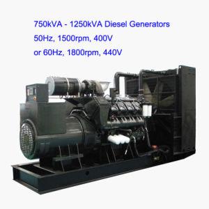 Generatore diesel Emergency di Googol 800kVA (HGM1100)
