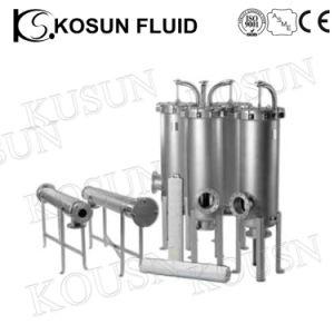 前のステンレス鋼の水処理袋のタイプフィルター