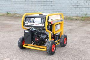 7500 Watt Benzin-Generator-Treibstoff-mit RCD und 4 x-pneumatischen großen Rädern (FC8000SE)