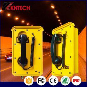 Wasserdichter Tiefbaumultifunktionstunnel des Telefon-Knsp-10 telefoniert Feuer-Seitenwechsel-Telefon