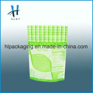 Levántate Snack bolsas de papel de plástico de embalaje de alimentos con cremallera