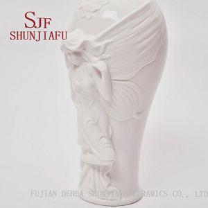 熱い現代陶磁器のつぼによって浮彫りにされるつぼの歓迎OEMの発注の各種各様のデザインを販売する