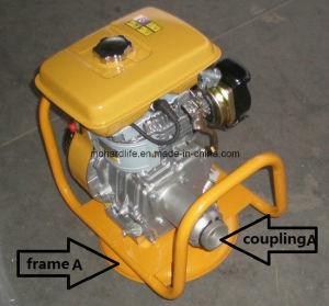 Robin Gasoline Engine 5HP met het Frame en de Koppeling van de Cirkel