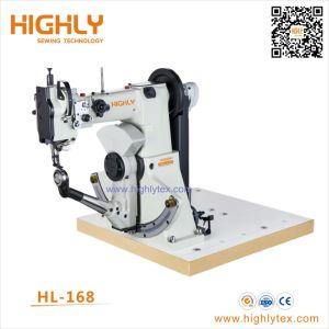 Hl-168 Rosca Dupla costura lateral calçados máquina de costura