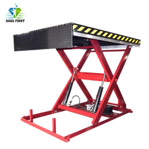 1a 5ton ton cilindro hidráulico eléctrico Mesas elevadoras de tijera para paletas