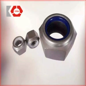 DIN985 lourd de l'écrou hexagonal Dacromet insert en nylon