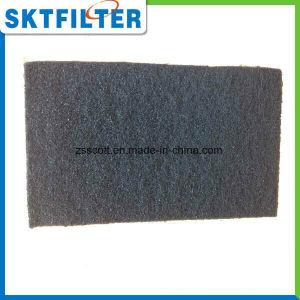 Nontissés de fibres de carbone pour la purification de l'eau