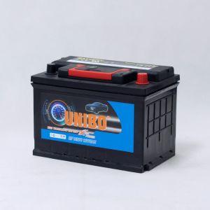 Batería de coche auto sin necesidad de mantenimiento de batería de la alta calidad de DIN75 12V75ah