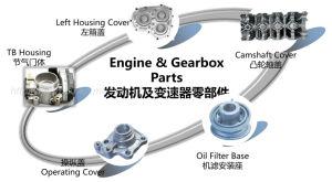 El aluminio moldeado a presión de la caja de transmisión del automóvil y cubierta de árboles de levas etc motor caja piezas OEM ODM Bienvenido