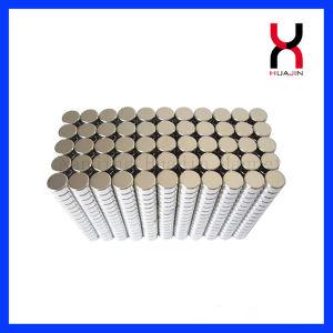 Sinterizado de alta calidad de NdFeB círculo redondo imán (D13*2mm)