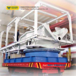 製鉄業の交通機関の反ロールオーバーの電気重い貨物車