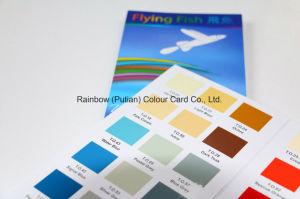 Nette Qualitätswertvolle Kunstdruckpapier-Farben-Karte für Reklameanzeige