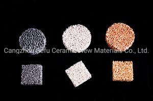 Filtre en mousse céramique Heat-Resistance filtre en mousse en céramique pour la coulée