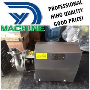 En acier inoxydable sanitaires Rotor ouvert pompe centrifuge