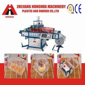 Semi-automatique de la plaque de plastique à haute vitesse Contaiers machine de formage de couvercle pour le PET PP Matériel PS