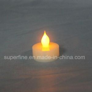 Kirche-dekorativer flammenloser batteriebetriebener Pfosten LED künstliches Tealights