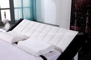 [أ044-1] جديد تصميم غرفة نوم لون موسيقى سرير أثاث لازم حديثة