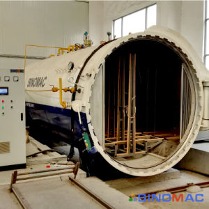 2000X4500mm ASME에 의하여 증명되는 전기 난방 박판으로 만들어진 유리 오토클레이브 (SN-BGF2045)