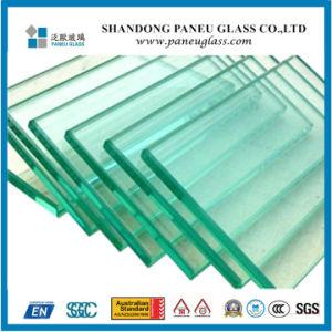 Aangemaakt Vlak en Gebogen Glas met Duidelijke Kleur