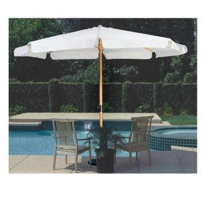 Houten Paraplu, Zon, Tuin, Promotie, Commercieel, de Parasol van de Markt, OpenluchtParaplu
