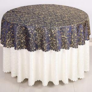 La promotion de l'hôtel de style européen de motif jacquard capot table