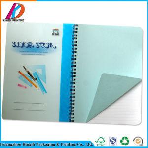 Capa dura personalizada Escola PVC Notebook em espiral