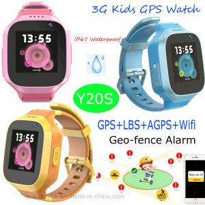 Het lange Reserve3G GPS van Jonge geitjes Horloge van de Drijver met IP67 Waterdichte Y20s