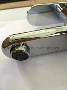 透かしの円形の真鍮の浴室のSingelのレバーのコック(CG4601)