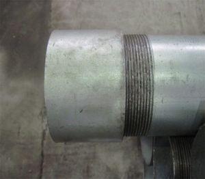 A283 Buis van de Pijp van het Koolstofstaal van Gr. B Ss330 Q195 Stk400 de ERW Gelaste