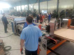 Fornitore ondulato d'alimentazione automatico della macchina di rivestimento della cera del cartone