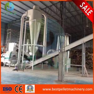 0.5~10T/H de la línea completa de la biomasa pellets de madera para la venta