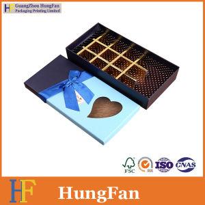 El lujo de grado alimentario Fancy Bombones de chocolate envases de papel Caja de regalo