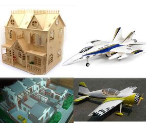Modèle de navire de bois/ modèle d'avion, l'artisanat Machine de découpe laser CO2