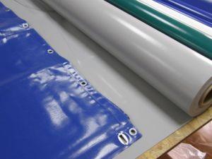 Het aangepaste 20X20 van het Oogje 750G/M2 Op zwaar werk berekende Blad van het pvc- Geteerde zeildoek