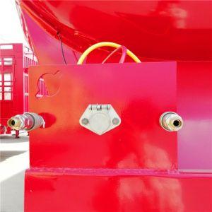 3 ESSIEUX 12 Pneumatiques 60T du réservoir de ciment semi-remorque de transport de poudre