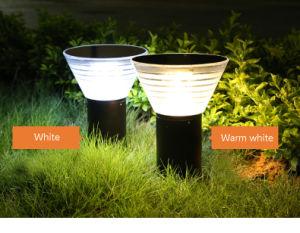 Illuminazione solare dellalberino del cortile dellindicatore