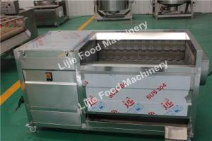 産業のための1t/Hポテトのタマネギの日付の洗浄および皮機械