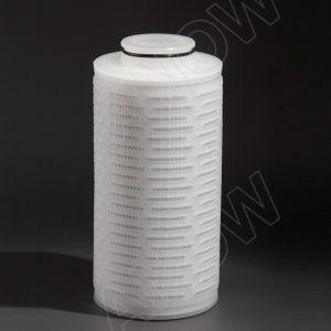 Vin de membrane de nylon et de minéraux plissé du filtre à eau