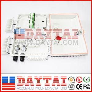 16 núcleos FTTH la caja de bornes con Sc LC Adaptadores (DT-FTB-H16 FTTH terminación caja).