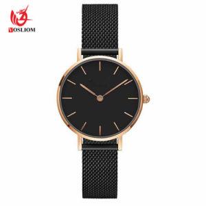 2018 Marca Superior Luxury ultra fina malha de aço Ouro Relógios vestido de mulher 32mm Dw Style amantes de quartzo de moda do dom de vigilância para as meninas #V289